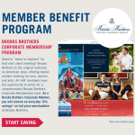 AAF Member Benefit Brooks Brothers