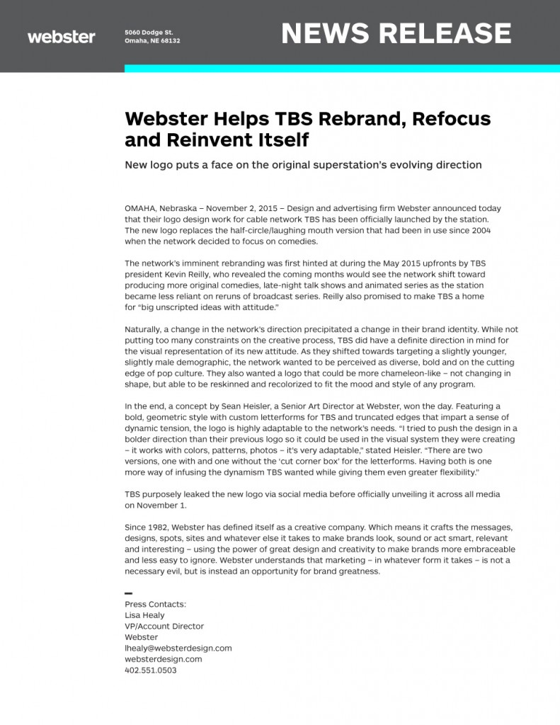 Webster_News_Release1 jpeg